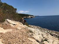 Wanderung von Es Migjorn Gran an den Strand von Cala Galdana