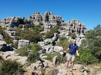 Wanderung bei Naturpark El Torcal de Antequera (1)