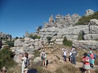 Wanderung bei Naturpark El Torcal de Antequera (3)