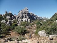 Wanderung bei Naturpark El Torcal de Antequera (9)