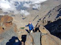 Wanderung auf dem Gipfel Mulhacen in Sierra Nevada - Alpujarras Bergwelt (13)