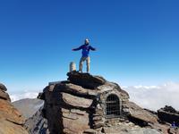 Wanderung auf dem Gipfel Mulhacen in Sierra Nevada - Alpujarras Bergwelt (14)