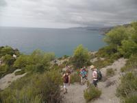 Wanderung an der Küste bei Maro und Cerro Gordo Steilküste und Strand bei Nerja (7)