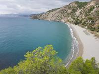Wanderung an der Küste bei Maro und Cerro Gordo Steilküste und Strand bei Nerja (8)