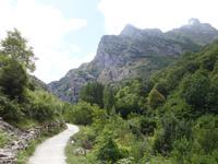 Wanderung auf der Ruta del Cares oder Cares Schlucht im Nationalpark Picos de Europa (1)