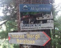 Wanderung Bergli Larein