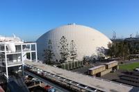 Terminalhalle für Kreuzfahrten in Long Beach - Los Angeles