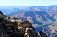 Spaziergang am Grand Canyon