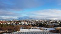 Island, Reykjavik, Blick vom Perlan