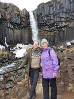 Island, Süden, Wanderung zum Svartifoss Wasserfall
