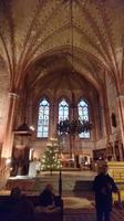 Wir lauschen gespannt den Ausführungen des Organisten im Orgelmuseum Malchow
