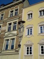 Straubing: Hausfassade