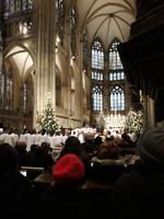 Regensburg: Weihnachtsgottesdienst im Dom