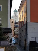 in Beilngries, St. Walburga mit den beiden Türmen im Hintergrund