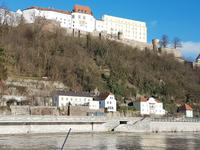 Veste Oberhaus in Passau über der Donau