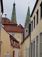 beide Türme der St. Walburga in Beilngreis