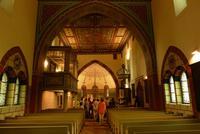 Im Inneren ist die Kirche auch wunderschön