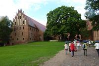 Ankunft am Kloster Chorin