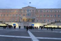 Das Parlament in Athen
