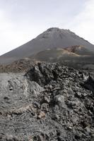 Pico und erkaltete Lava