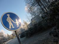 Franzensbad Kurpromenade mit Glauberquellen