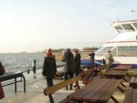 Darss Hafen von Born im Winter
