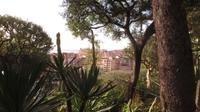 Blick auf Monaco vom Garten