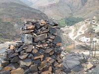 050 Bilad Sayt - am Fuße der Berge