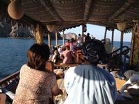 385 Dhau-Schifffahrt entlang der Küste