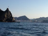 388 Dhau-Schifffahrt entlang der Küste