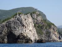Paleokastritsa - Bootsfahrt zu den Grotten