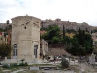 Der Turm der Winde, ein Uhrturm aus dem 1. Jh. vor Chr.