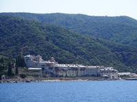 Schiffahrt um den Berg Athos