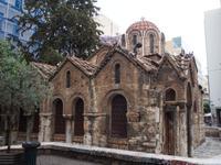 Kirche Panaghia Kapnikarea in Athen