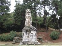 Der steinerne Löwe von Amphipolis