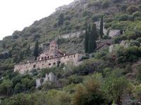 Das Kloster Pantanassa in Mistras