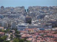 Blick auf die Rotunde in Thessaloniki