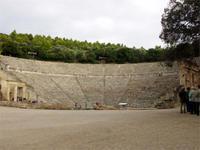 Das Theater in Epidaurus