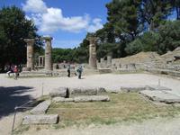 Heratempel und -altar in Olympia