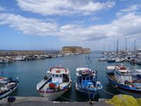 Heraklion - venezianischer Hafen mit Festung Koules
