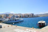 Kreta - Agios Nikolaos Hafen