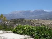 Blick auf das Ida-Gebirge