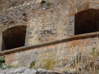 Insel Spinalonga - venezianisches Fort mit dem Löwen von San Marcus