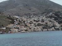 Hafeneinfahrt nach Symi