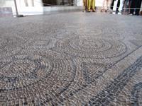 Rhodos Stadt - Mosaik im Großmeisterpalast