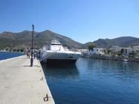 Schnellboot nach Tilos