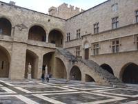 Innenhof des Großmeisterpalastes