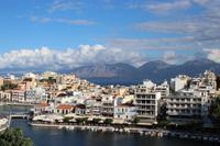 Ausblick in Agios Nikolaos