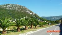 Fahrt über die Halbinsel Pelesac