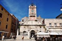 015 Zadar, Hauptplatz mit Venezianischer Stadtwache